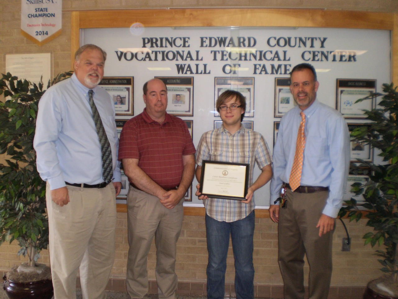 SVCC Awards its 20,000th Career Readiness Certificate