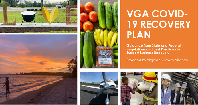 VGA COVID-19 Recovery Plan cover